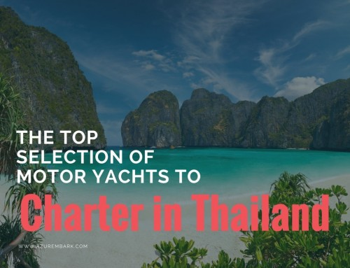 The Top Selection of Motor Yachts to Charter in Thailand